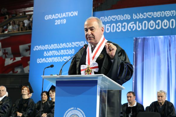 The World Belongs to You! – Rector's Speech at Graduation Ceremony 2019
